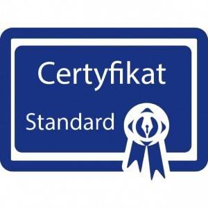 Certyfikat standard